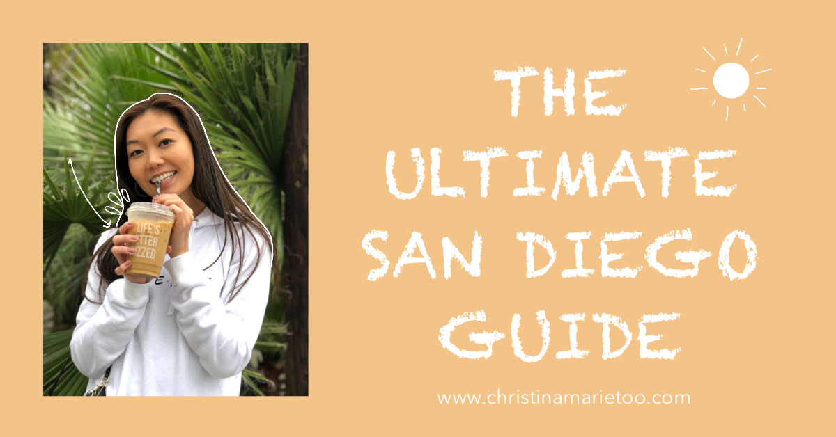 THE ULTIMATE SAN DIEGO GUIDE